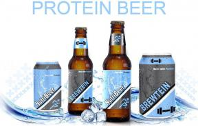 Supplemental Brewing Protein Beer