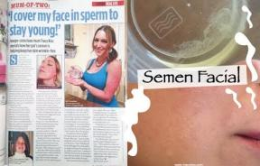 Semen Facials: Beauty Blogger Has A Very Unique Way Of Keeping Her Skin Looking Young