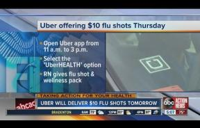 UberHEALTH Brings Flu Shots To Your Doorstep: From Taxi Service To House Calls
