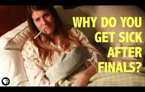 Why Do We Always Get Sick Right After Final Exams? It's Complicated