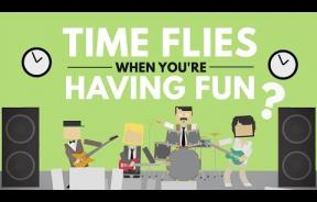 Time Flies When You're Having Fun: Visual Attention Influences Time Perception During And After Activity