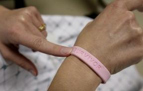 Breast cancer survivor bracelet