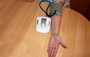 at home blood pressure monitor