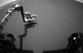 NASA Rover Sends Mars Images Back To Earth