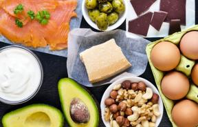 Foods in a keto diet