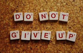 self-confidence do not give up