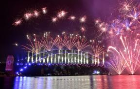 New Years Fireworks Australia