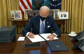 Biden Signing Executive Orders