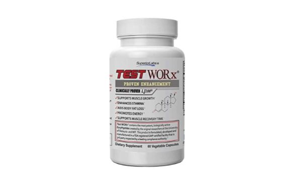 3. Superior Labs Test Worx Natural Testosterone Booster