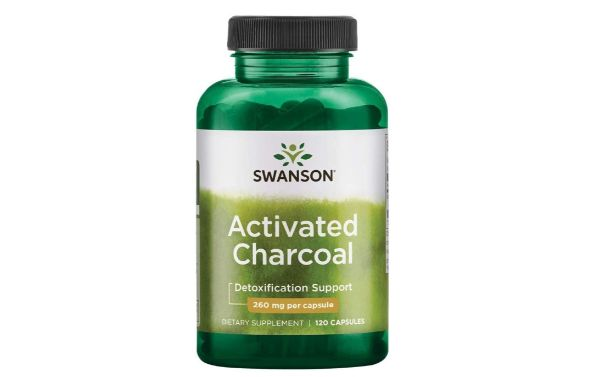 3. Swanson Activated Charcoal Capsules