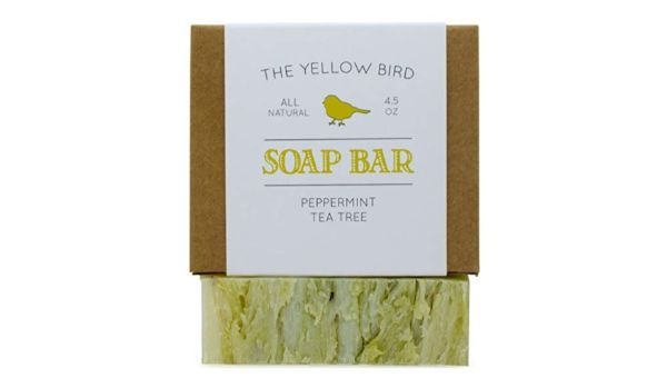 The Yellow Bird Peppermint & Tea Tree Soap Bar