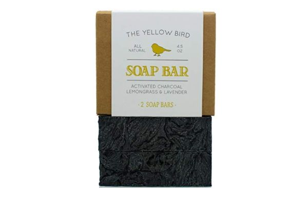 The Yellow Bird Charcoal Soap