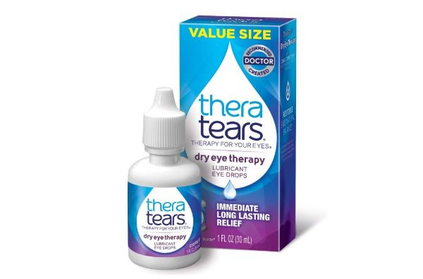8. Thera Tears Dry Eye Therapy Lubricant Eye Drops