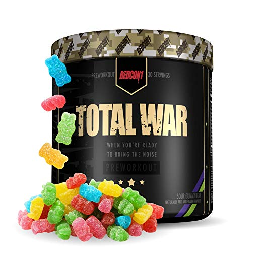 13. TOTAL WAR Sour Gummies