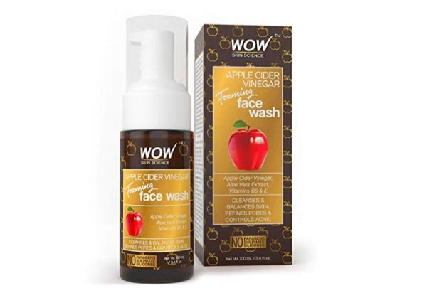 WOW Apple Cider Vinegar Foaming Face Wash Cleanser
