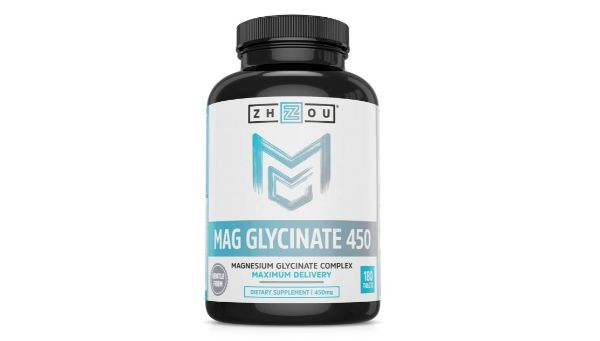 11. Zhou Nutrition Magnesium Glycinate